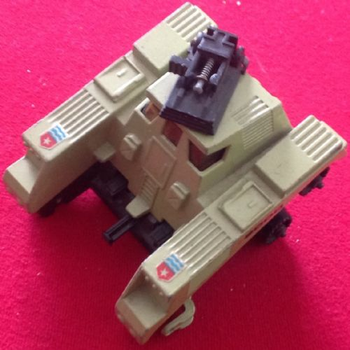 Matchbox Adventure 2000 K-2003 Raider Command rear section ( Missing a few bits see photograph)